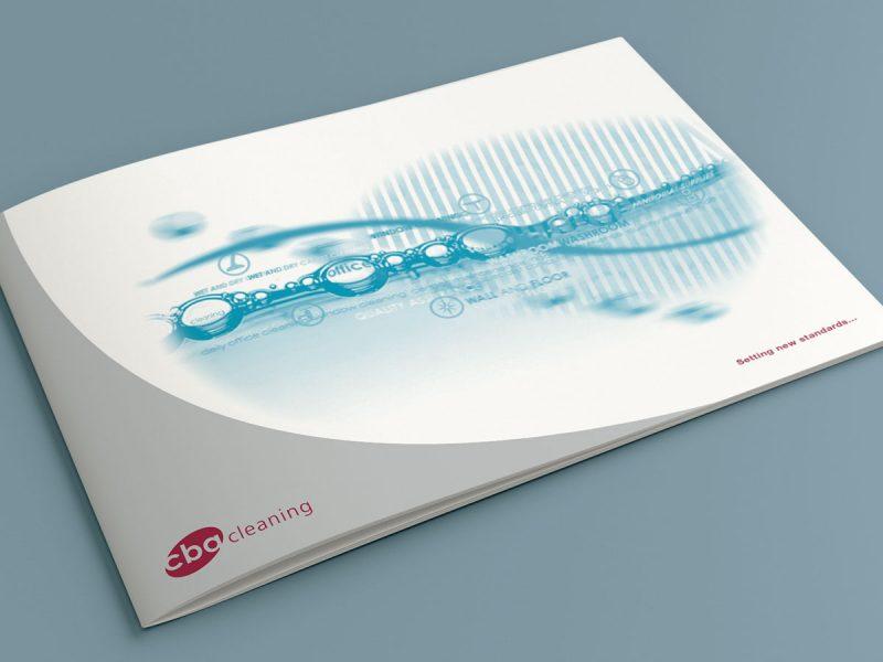CBA Cleaning Brochure Design
