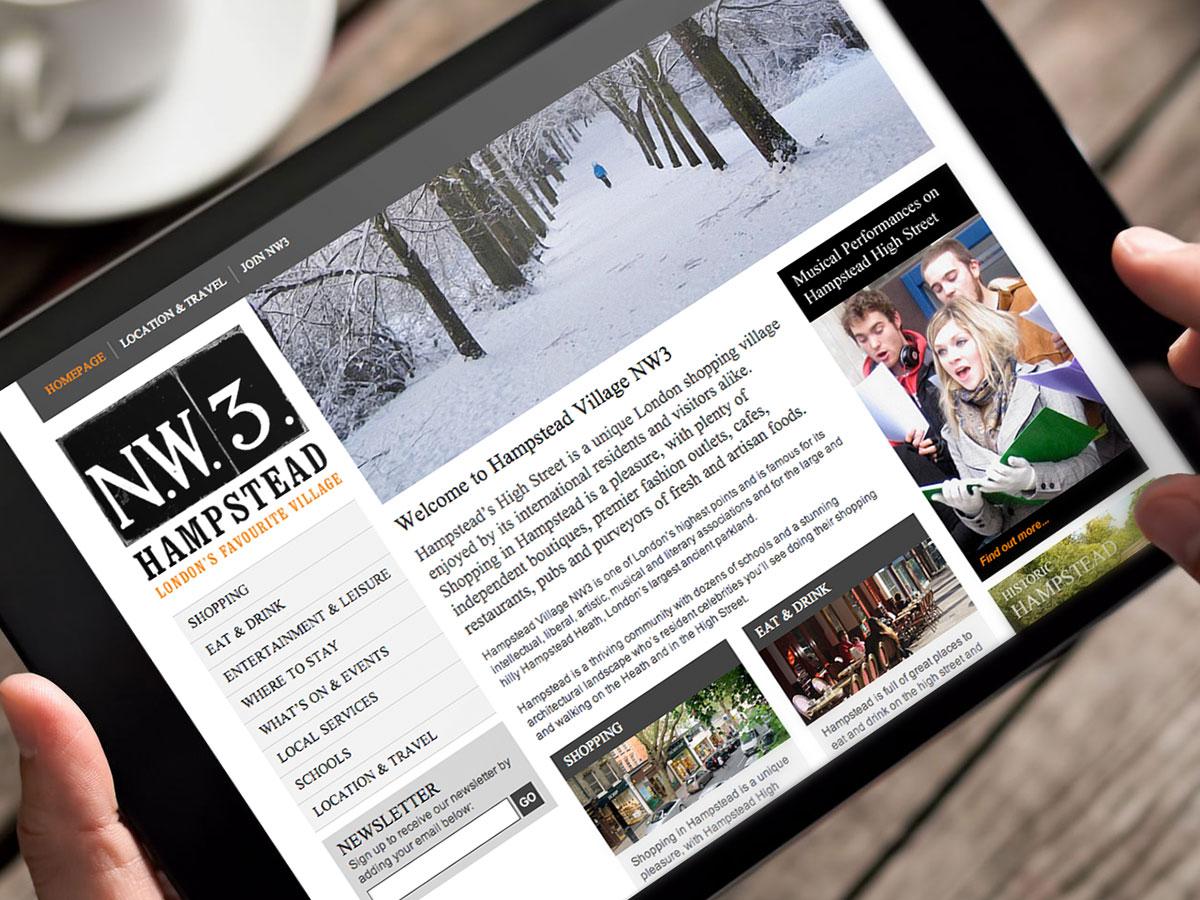 NW3 Hampstead Website Design