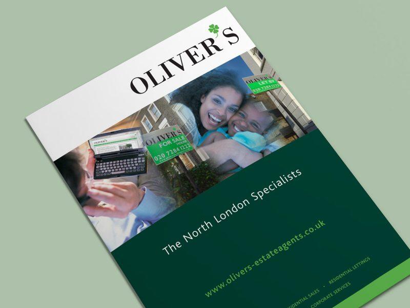 Olivers Estate Agents Brochure Design
