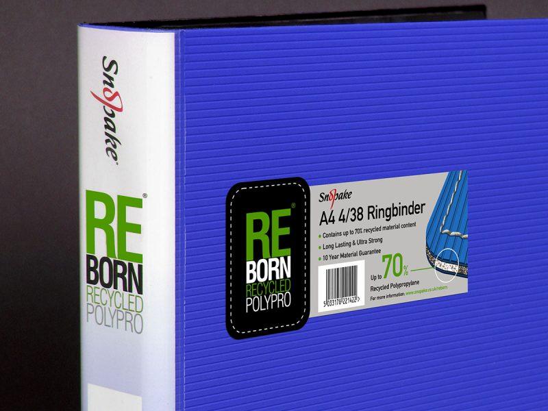 Snopake ReBorn Recycled PolyPro Folder