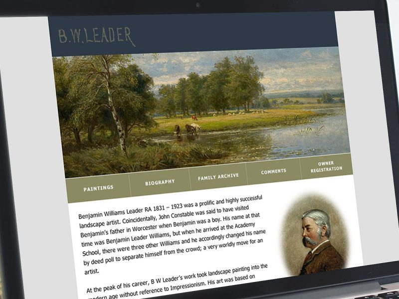 BW Leader Website Design