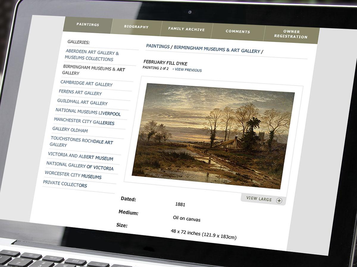 BW Leader Website Design