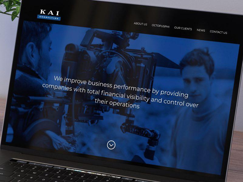 KAI Website Design