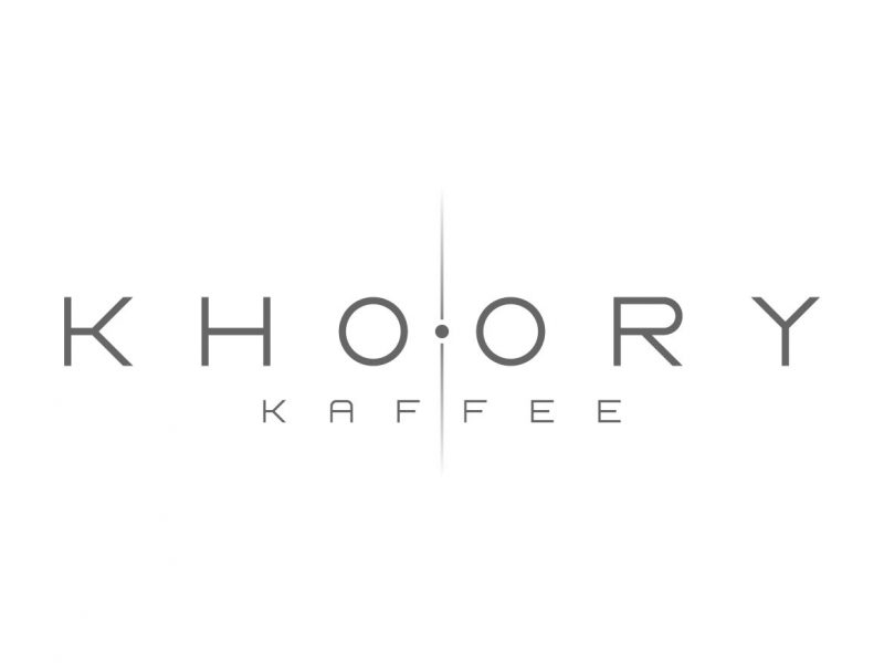 Khoory Kaffee Logo Design