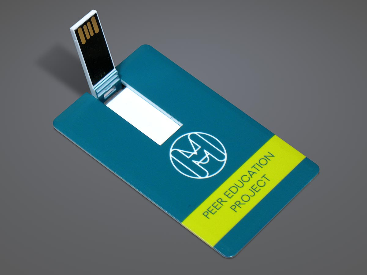 Mental Health Foundation Peer Education Project USB Card