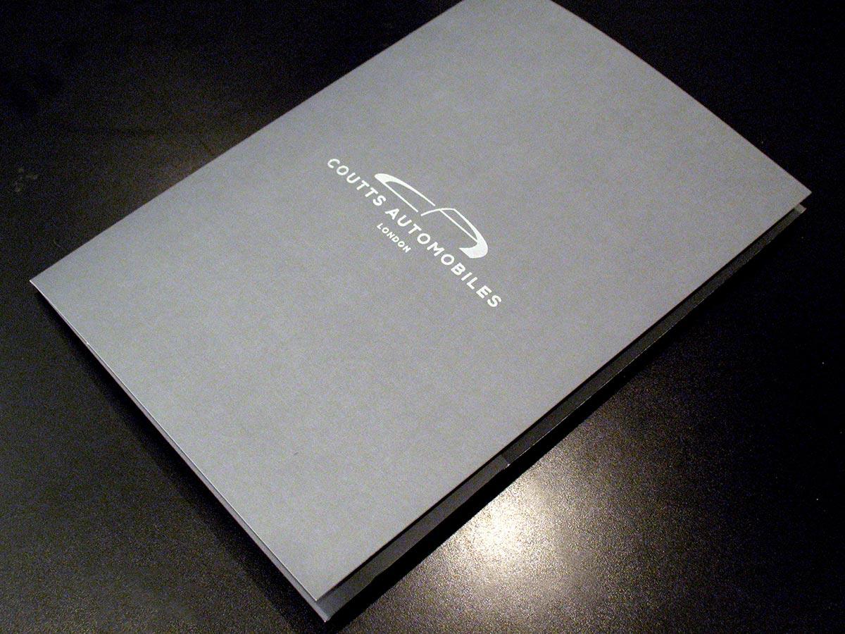 Coutts Automobiles Folder