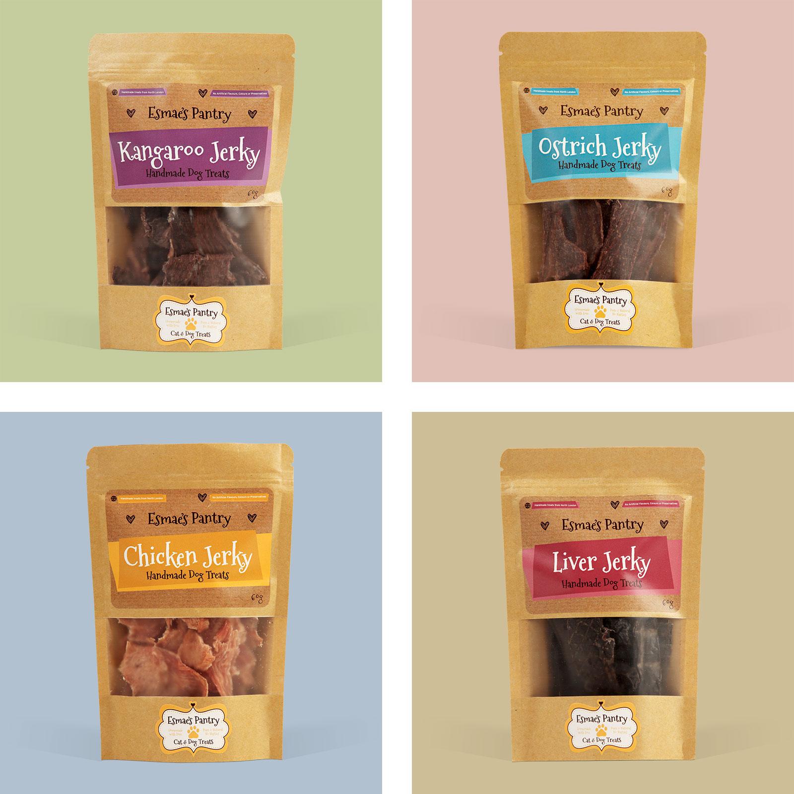 Esmae's Pantry Packaging Design