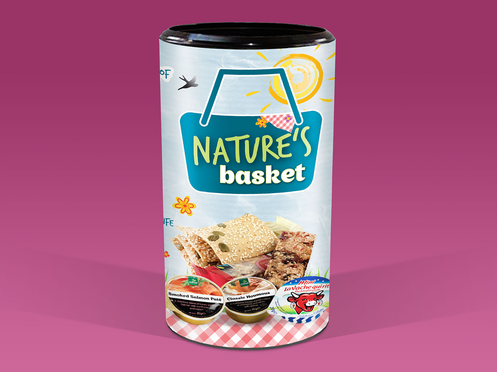 Novel Foods Natures Basket Packaging Design