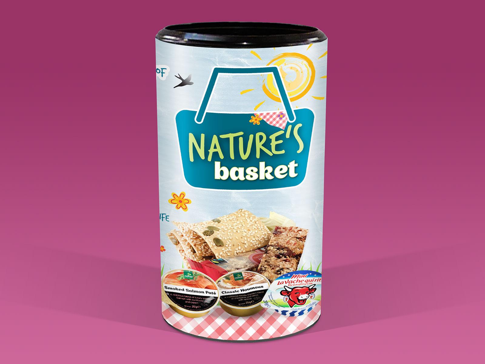 Novel Foods Natures Basket Packaging Design