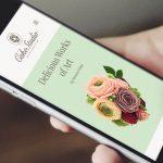The Cake Studio Website Design