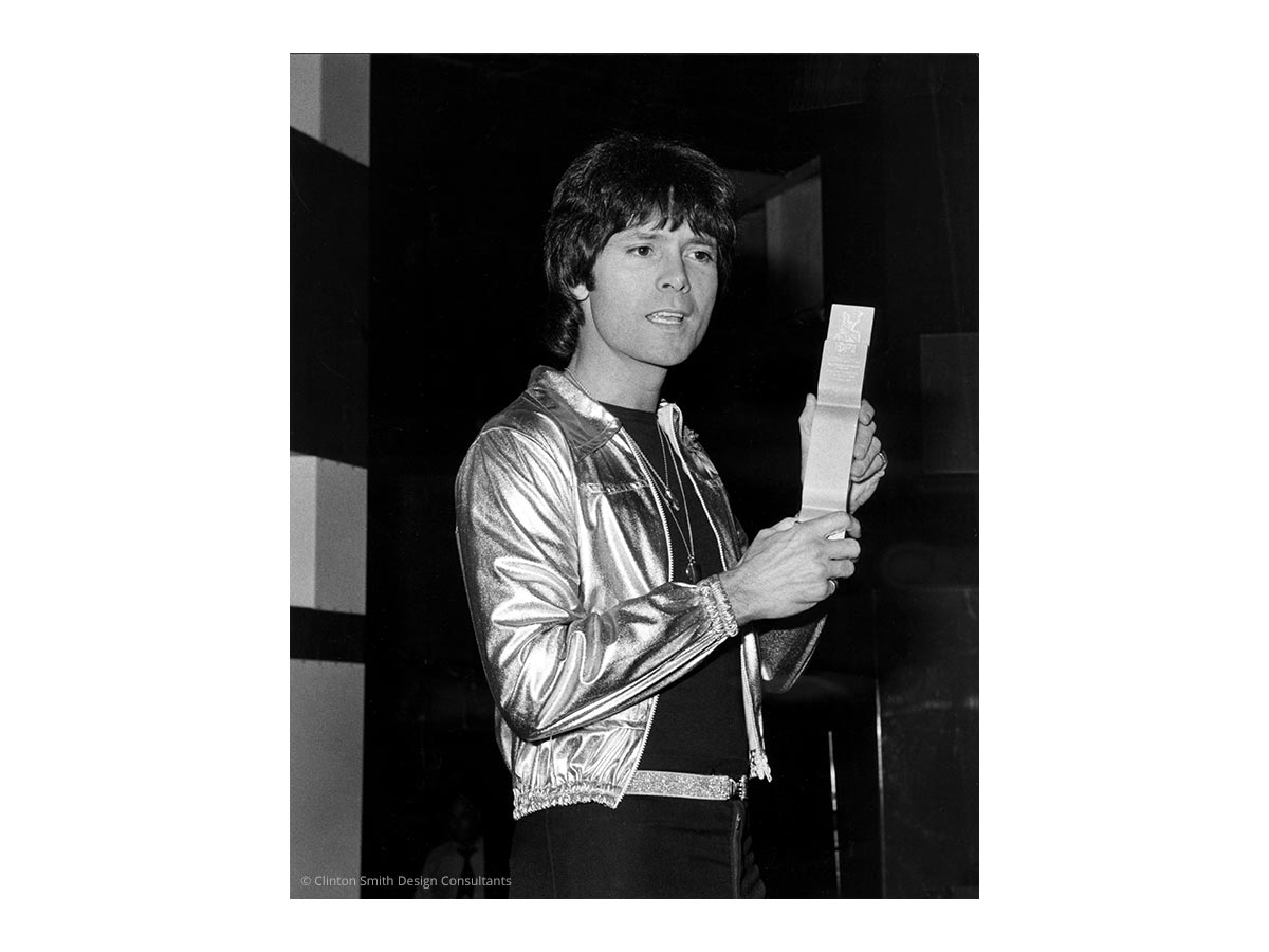 BPI BRIT Award 1977 - Cliff Richard
