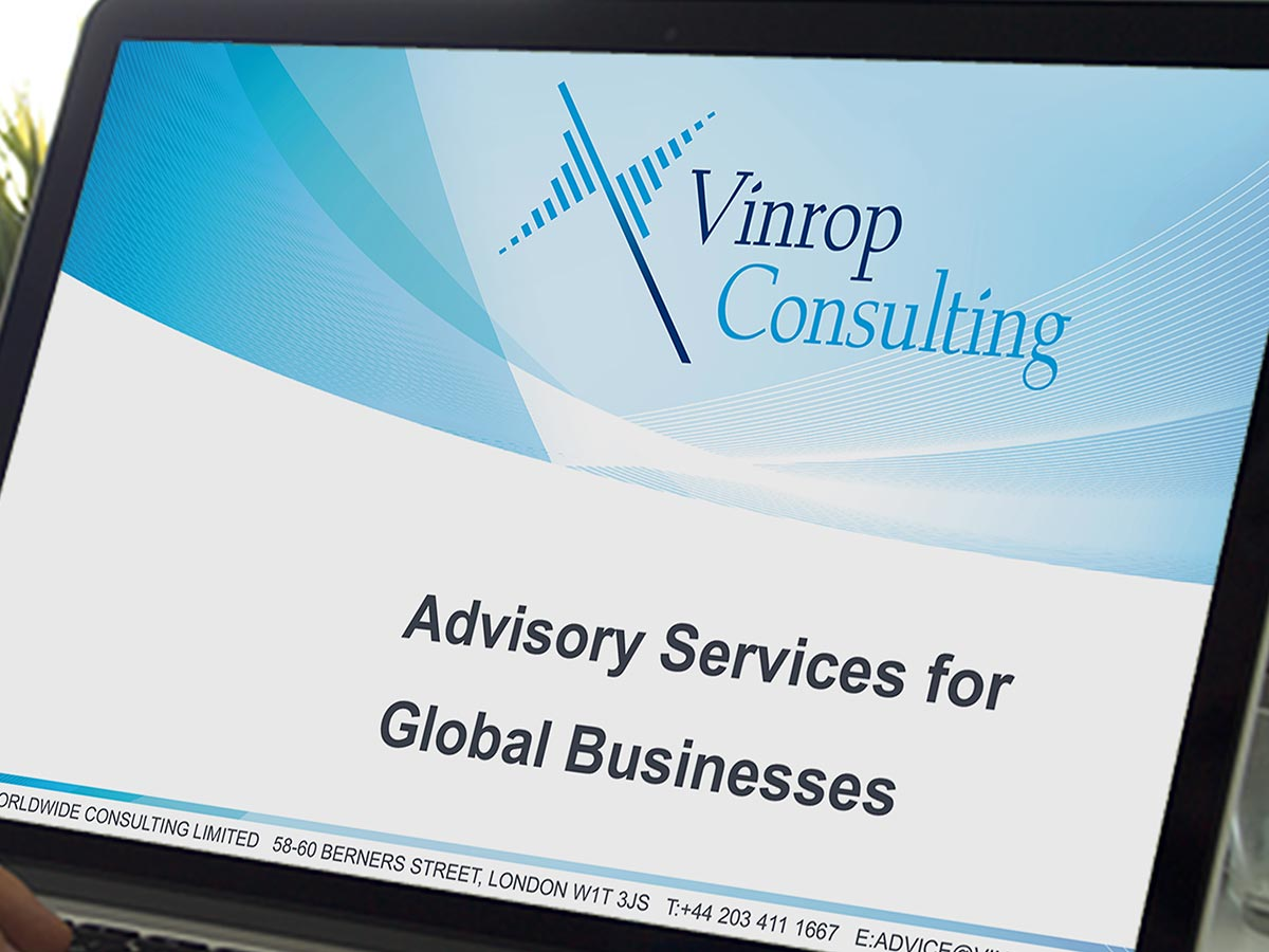 Vinrop Consulting Digital Presentation