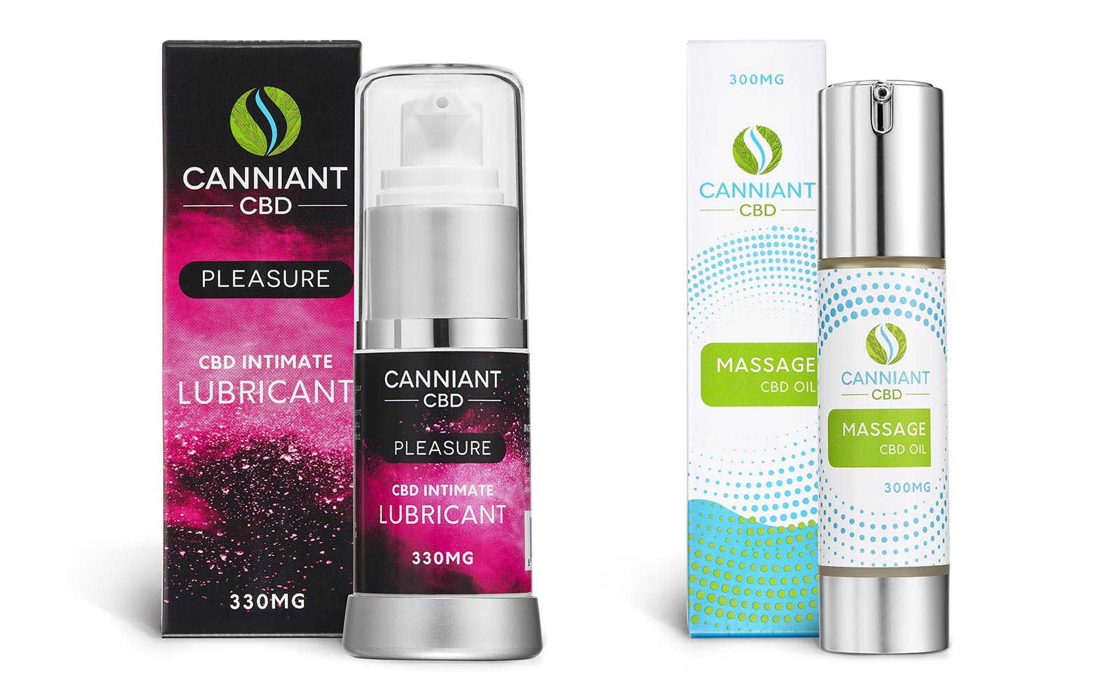 Canniant CBD Lubricant Oil Packaging Design