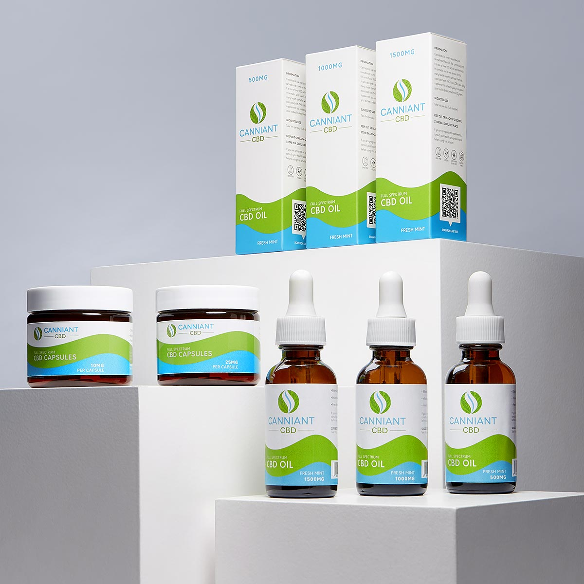 Canniant CBD Oil Packaging Design