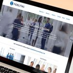 Fidelitas Consulting Website Design