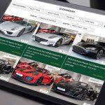 Seraph Cars Website Design