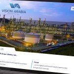 Vision Arabia Website Design